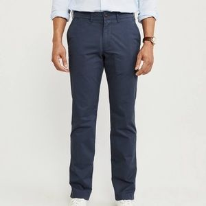 Abercrombie and Fitch Chinos navy